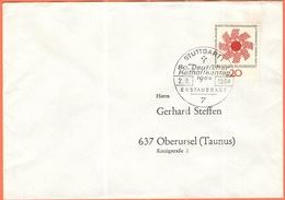 GERMANIA - GERMANY - Deutschland - ALLEMAGNE - 1964 - 80. Deutscher Katholikentag  - FDC - Stuttgart - [7] Repubblica Federale