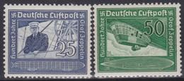 Deutsches Reich      .   Michel      .  669/670           .    **   .      Postfrisch    .  /   .   MNH - Deutschland