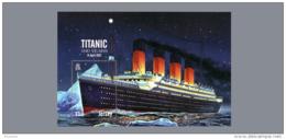 2012 Jersey - Titanic - 100 Years Of The Titanic Catastrophe  - MS - Paper - MNH** MI B 99 (kk) - Jersey