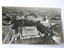CPSM  (14) Calvados - En Avion Au Dessus De ... COURSEULLES - France