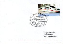ALLEMAGNE. Flamme De 2012 Sur Enveloppe Ayant Circulé. - Machine Stamps (ATM)