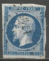FRANCE - Oblitération Petits Chiffres LP 1746 LOCMINE (Morbihan) - 1849-1876: Période Classique