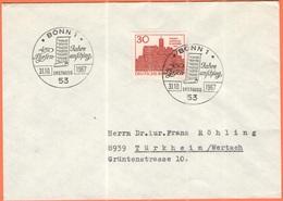 GERMANIA - GERMANY - Deutschland - ALLEMAGNE - 1967 - 450. Jahrestag Des Thesenanschlags Durch Martin Luther - FDC - Bon - [7] Repubblica Federale