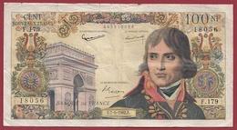 """100 Francs """"Bonaparte"""" Du 07/06/1962.F---F/TTB+----ALPH-F.179 - 1959-1966 ''Nouveaux Francs''"""