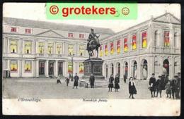 DEN HAAG Koninklijk Paleis – Hold To Light – Kaart Ca 1908 Uitgave: Speelman - Den Haag ('s-Gravenhage)
