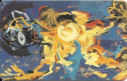CARTE-PUCE-LUXEMBOURG-50U-SC04-SC7-1993-ART CONTEMPORAIN-1-Isabelle Welter-V° N°C4C147624--TBE - Luxemburg