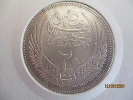 Egypte 20 Piastres 1957 - Egypte