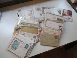 Österreich Ca. 1885 - 1980er Jahre Ganzsachen / FDC / Belege Stöberposten Insgesamt 325 Belege / Karten - Briefmarken