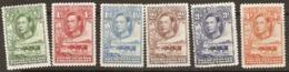 Bechuanaland Protectorate  1938  SG  118-23   Mounted Mint - Bechuanaland (...-1966)
