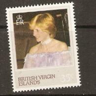 British Virgin Islands  1982  SG  489  Princess Diana  Mounted Mint - British Virgin Islands
