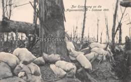 CARTE ALLEMANDE ARGONNE 1915 ARGONNERKÄMPFE - Francia