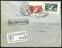 728 - URUGUAY - 1926 - AIR MAIL COVER - FAUX, FORGERY , FALSCH, FAKE  FALSO - Briefmarken