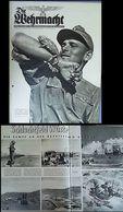 WW II Heft Illustriert : Die Wehrmacht, 4. Juni 1941 Mit 24 Seiten ,Deutsches Afrika Korps , Schlachtfeld Wüste , Eine - Lettres & Documents