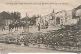 54) Domêvre - Vezouse -  Durchzug Einer Artillerie-Kolonne ... - 1.WK - WW1 - Guerre - Weltkrieg - Domevre En Haye