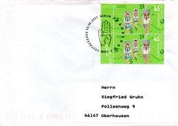 ALLEMAGNE. N°2425 De 2007 Sur Enveloppe 1er Jour Ayant Circulé. Scoutisme. - Europa-CEPT