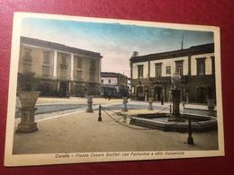 Corato Piazza Cesare Battisti Viaggiata 1930 - Bari