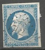 FRANCE - Oblitération Petits Chiffres LP 1762 LORIOL (Drôme) - Storia Postale (Francobolli Sciolti)