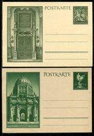 """Deutsches Reich / 1943 Ff. / Sonderpostkarten """"Goldschmiedekunst"""" Mi. P 296/P 297 ** (23461) - Deutschland"""
