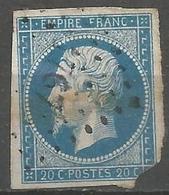 FRANCE - Oblitération Petits Chiffres LP 1767 LORREZ-LE-BOCAGE (Seine & Marne) - Marcophilie (Timbres Détachés)