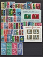 Switzerland 1958-1960, **/*, Mi: CV €170.+ (14i) - Sellos