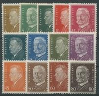 Deutsches Reich 1928 Ebert/Hindenburg 410/22 Ohne Gummierung Zahnfehler (R17271) - Deutschland