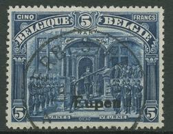 Ausgabe Für Eupen 1920 Freimarken Mit Aufdruck 13 A Gestempelt - Weltkrieg 1914-18