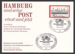 Germany-BRD - Sonderkarte - Hamburg Und Seine Post-einst Und Jetzt - MiNr. 761 - SST 28.04.1973 - BRD