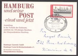 Germany-BRD - Sonderkarte - Hamburg Und Seine Post-einst Und Jetzt - MiNr. 761 - SST 07.04.1973 - BRD