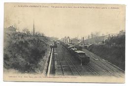 SAINT MARTIN D'ESTREAUX - Vue Générale De La Gare - Train - Francia