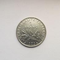 1 Franc Münze Aus Frankreich Von 1973 (schön) - H. 1 Franc