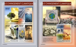 Togo 2019, Global Warming, 4val In BF +BF - Milieubescherming & Klimaat