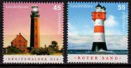 2004 Germany / BRD - LIghthouses - Issue I - Greifwalder And Roter Sand - 2 V Paper - MNH** Mi 2409/2410 - Leuchttürme