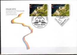 Pfalzer Hute - 2012 Joint Issue Lichtenstein And Germany -both Countries FDC -mixed - Gemeinschaftsausgaben