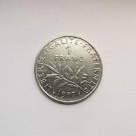 1 Franc Münze Aus Frankreich Von 1977 (sehr Schön) - H. 1 Franc