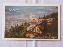 Colombia Around 2018 Unused Postcard - Bogota Church Monserrate - Colombia