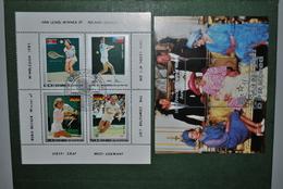 Corée Nord 1982/86 Blocs-feuillets Tennis + Princesse Diana - Korea, North