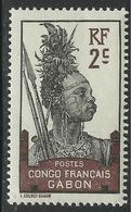 GABON 1910 YT 34** NEUF SANS CHARNIERE - MNH - Gabon (1886-1936)