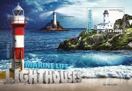 Sierra Leone, 2016. [srl16320] Lighthouses (s\s+m\s) - Lighthouses