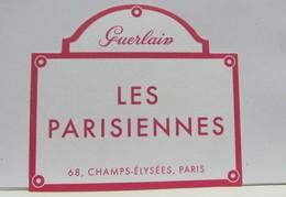 Carte Parfumée LES PARISIENNES - Modernas (desde 1961)
