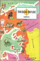 Tour Du Monde N° 14, Avril 1961 - Grèce (ABE) - Géographie