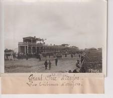 GRAND PRIX D'ANJOU LES TRIBUNES D'ANGERS   18*13CM Maurice-Louis BRANGER PARÍS (1874-1950) - Aviación