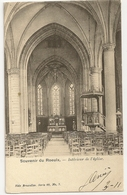 """1 -  Souvenir Du Roeulx - Intérieur De L' Eglise """" Nels Série 88 N°7"""" - Le Roeulx"""
