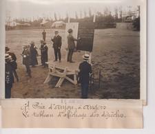 GRAND PRIX D'ANJOU A ANGERS LE TABLEAU D'AFFICHAGE DES DEPECHES   18*13CM Maurice-Louis BRANGER PARÍS (1874-1950) - Aviación