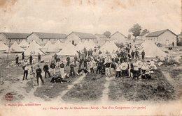 Chambaran - Champ De Tir - Vue D'un Campement - - Morestel