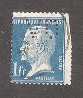 Perforé/perfin/lochung France No 179 VD Verley Decroix Et Cie (18) - Perforés