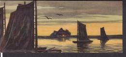 2 Künstlerpostkarten  S.Wencke - Worpswede - Autres Illustrateurs