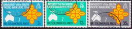 BRITISH SOLOMON ISLANDS 1969 SG #181-83 Compl.set Used South Pacific University - Salomonseilanden (...-1978)