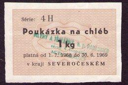 Czechoslovakia Cupon For Bred - Tchécoslovaquie