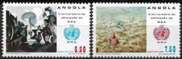 Angola – 1982 Angola Admission To The UN Set - Angola