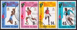 BRITISH SOLOMON ISLANDS 1969 SG #184-88 Compl.set+m/s Used Third South Pacific Games - British Solomon Islands (...-1978)